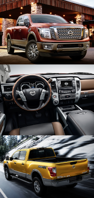 Great The 2016 Nissan TITAN XD, Which Made Its World Debut At The 2015 North  American International Auto Show In Detroit, Is Set To Shake Up The Highly  ...